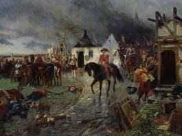Canvas Picture of the Thirty Years War