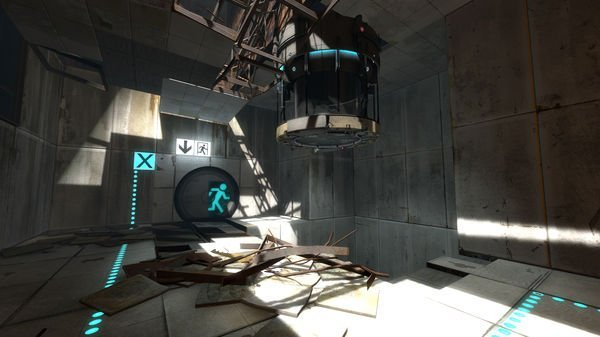 Screenshot from Portal 2 on PC