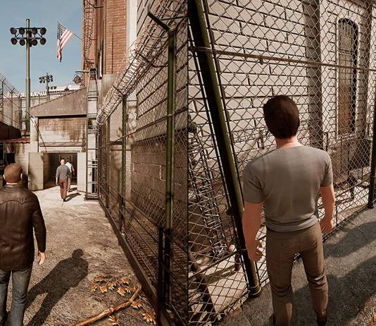 Screenshot from A Way Out