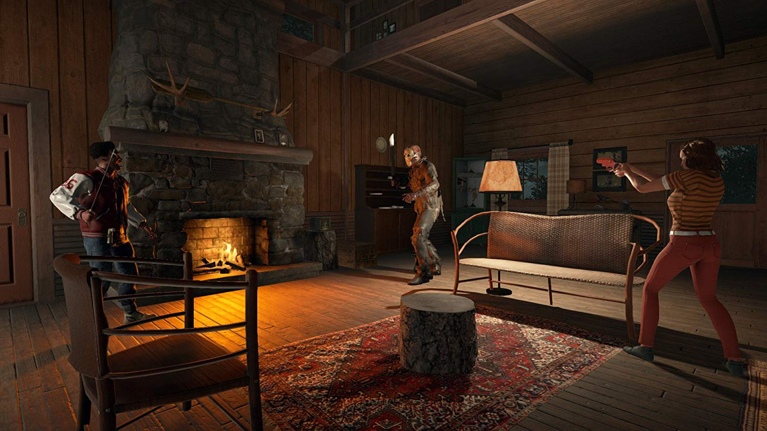 Screenshot from Friday the 13th the game