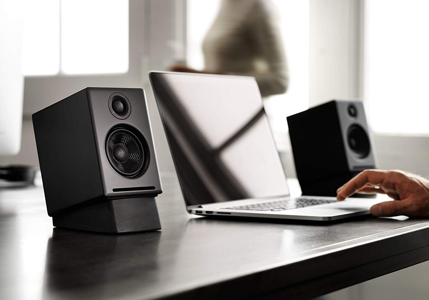 Image of audioengine a2+ wireless pc speakers