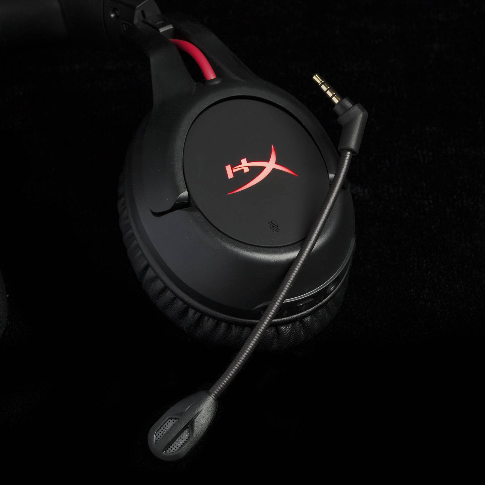HyperX detachedable microphone