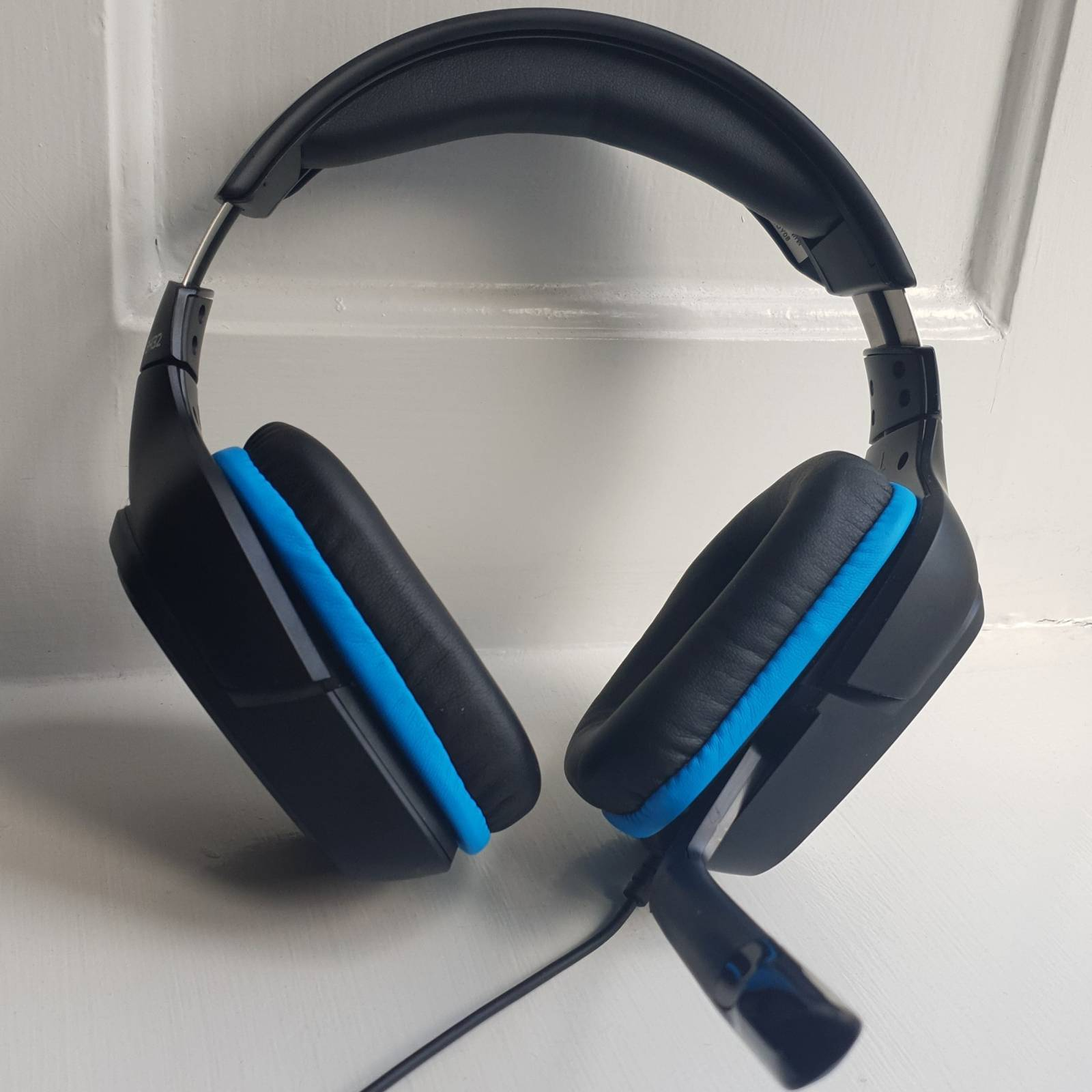 frontal image of G432 headset