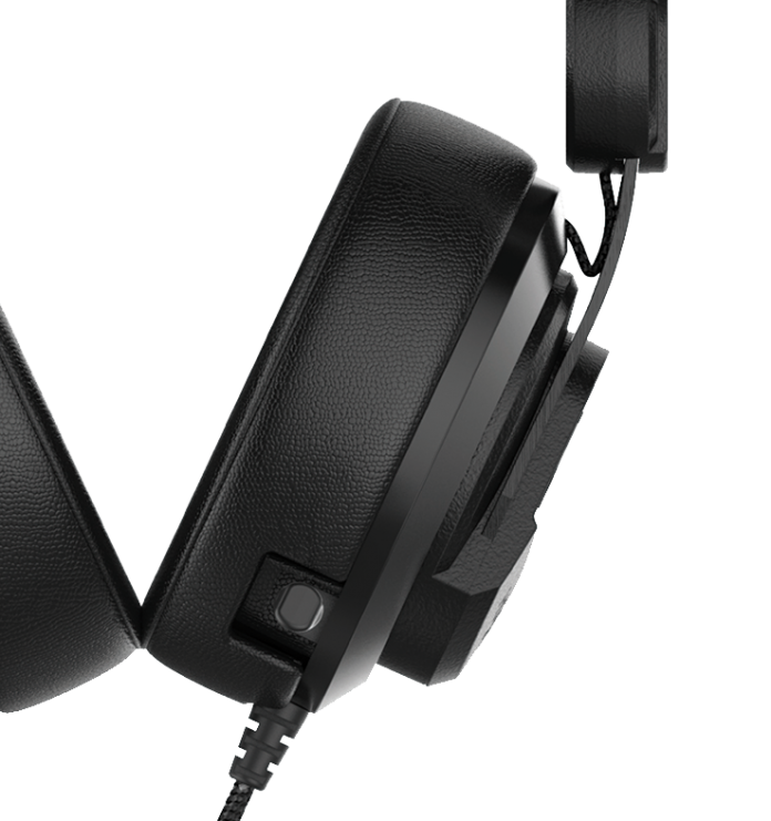 Image of the HS53 Onyx headset from Plugable