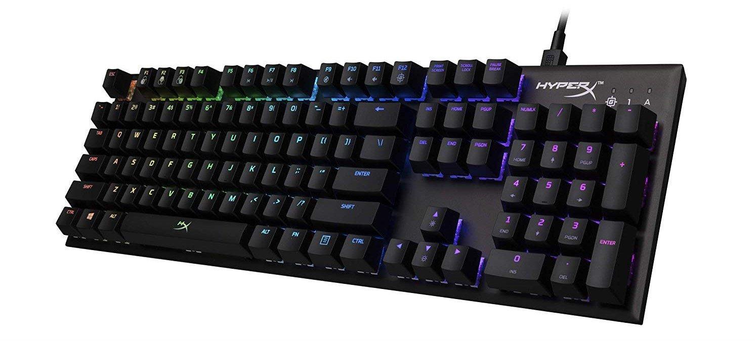 Image of HyperX Alloy FPS keyboard