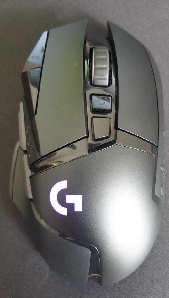 Image of the new Logitech G502 Lightspeed