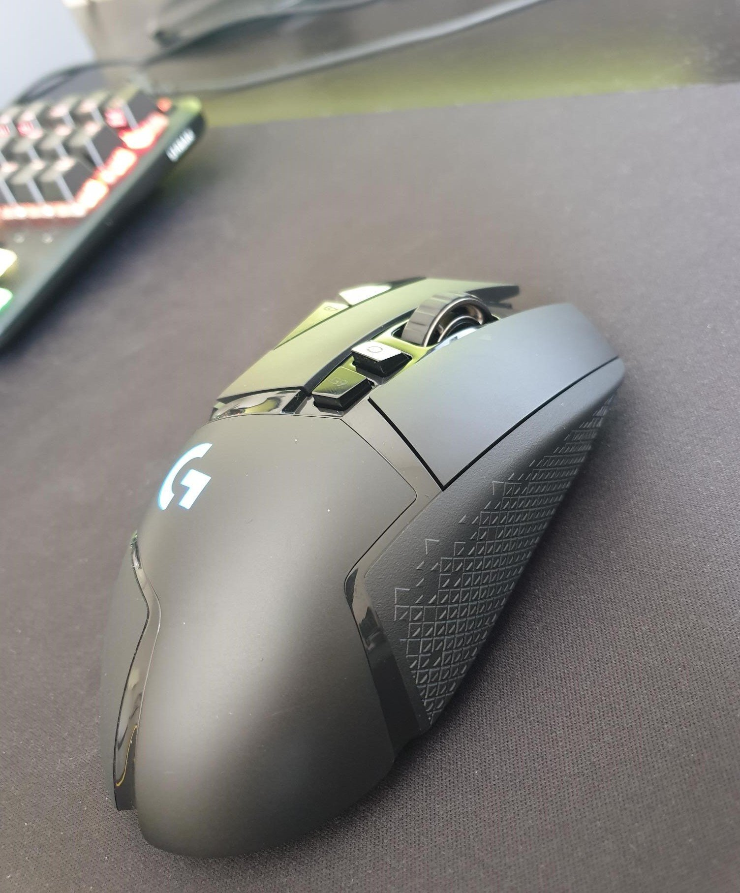 Image of my G502 Lightspeed
