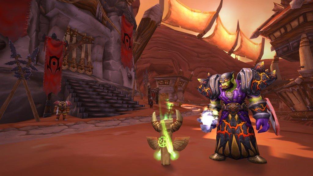 Screenshot of shaman in Tier 1 in Classic Wow