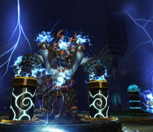 Image from of the Throne of Thunder in World of Warcraft