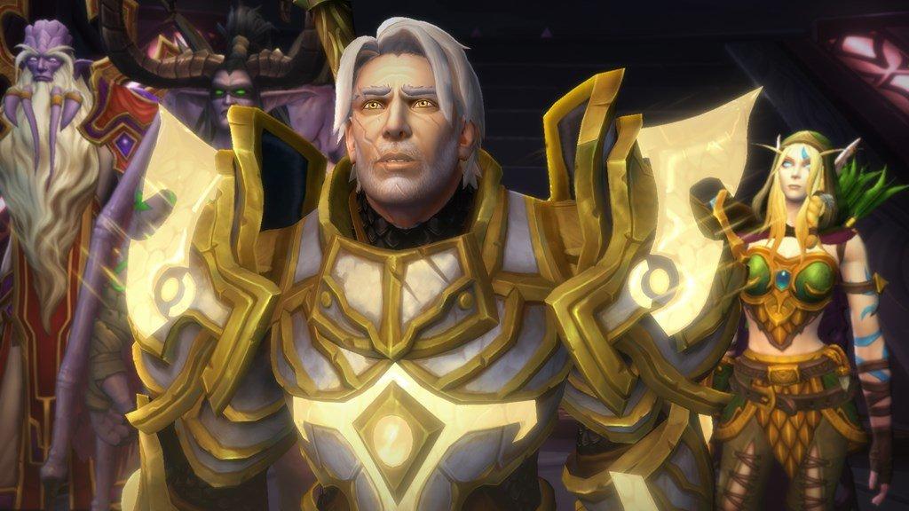 Image of in-game World of Warcraft Legion cutscene
