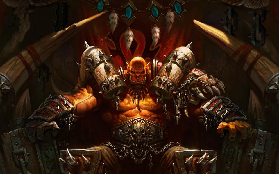 Warrior Warcraft wallpaper