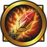 Image of the mage class icon in warcraft