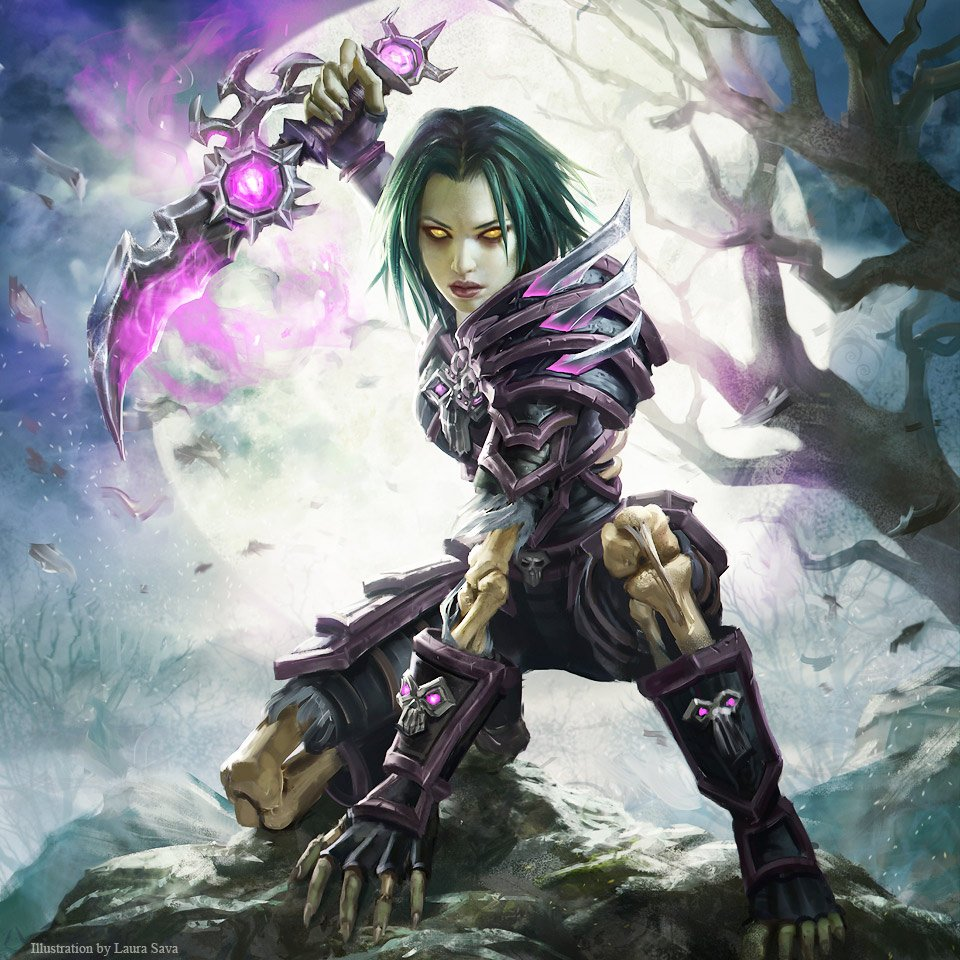 image of undead rogue in World of Warcraft