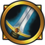 Classic wow warrior icon