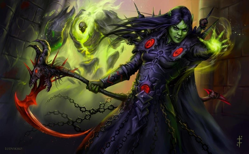 Image of Orc Warlock in World of Warcraft Classic