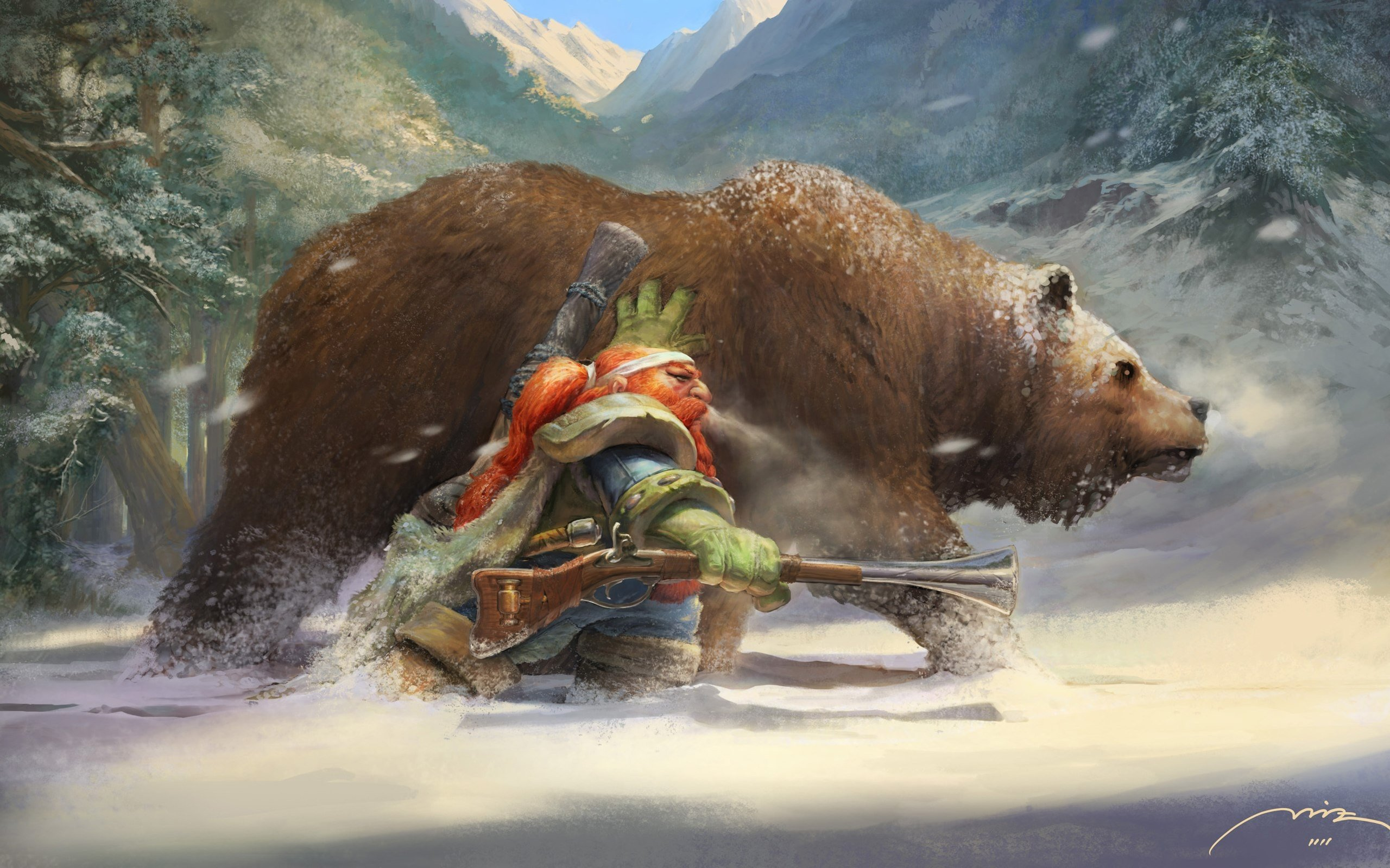 art of dwarf hunter in Classic wow