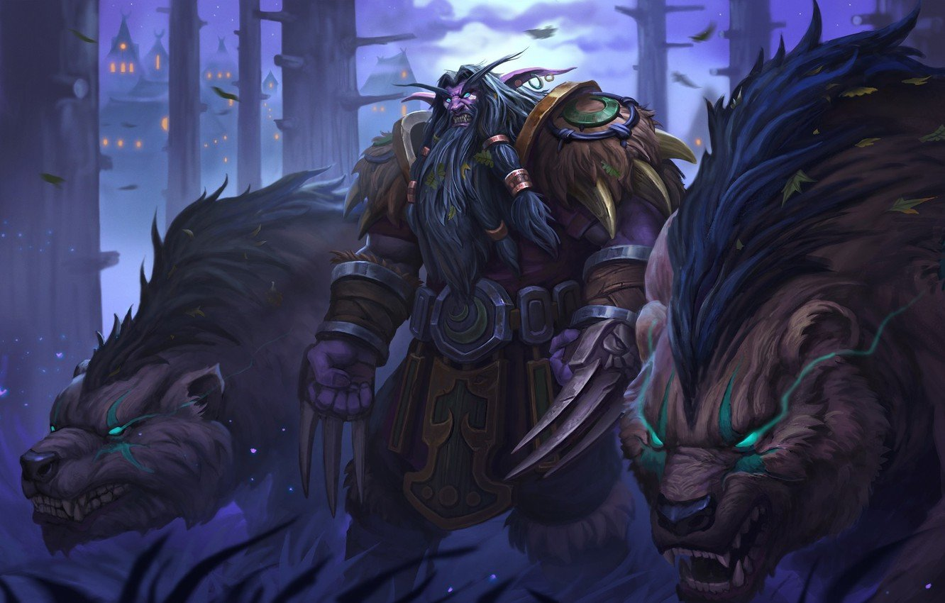 Image of classic warcraft druid