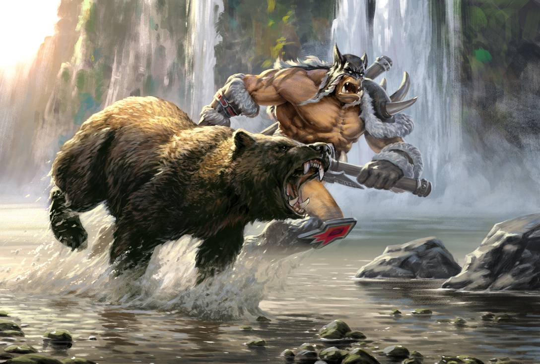 Image of World of Warcraft hunter