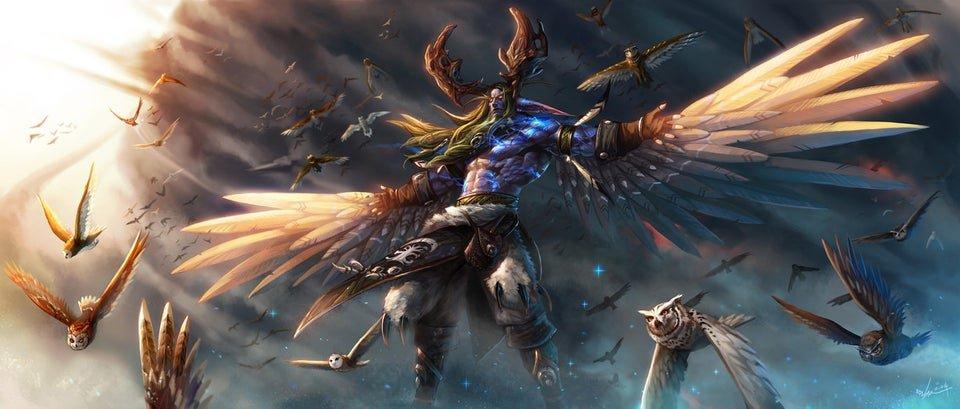 Image of world of warcraft druid