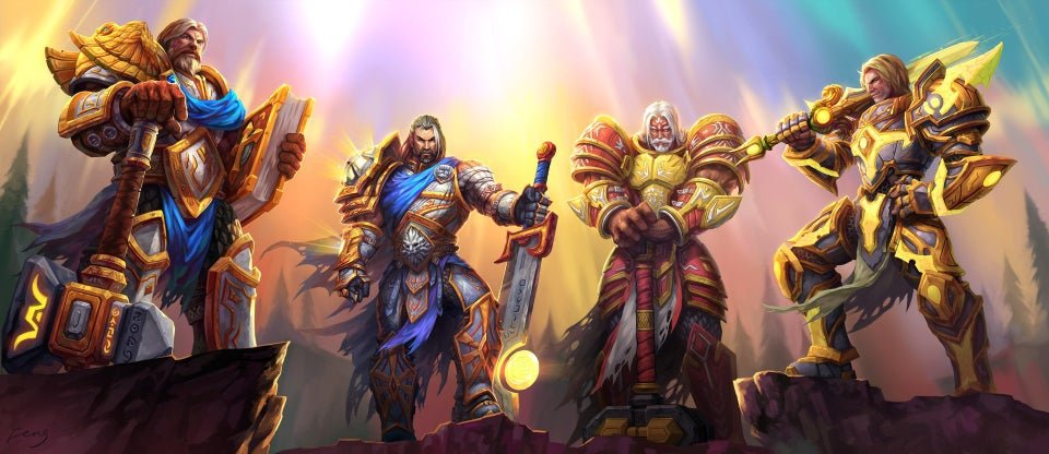 Image of Paladins in World of Warcraft