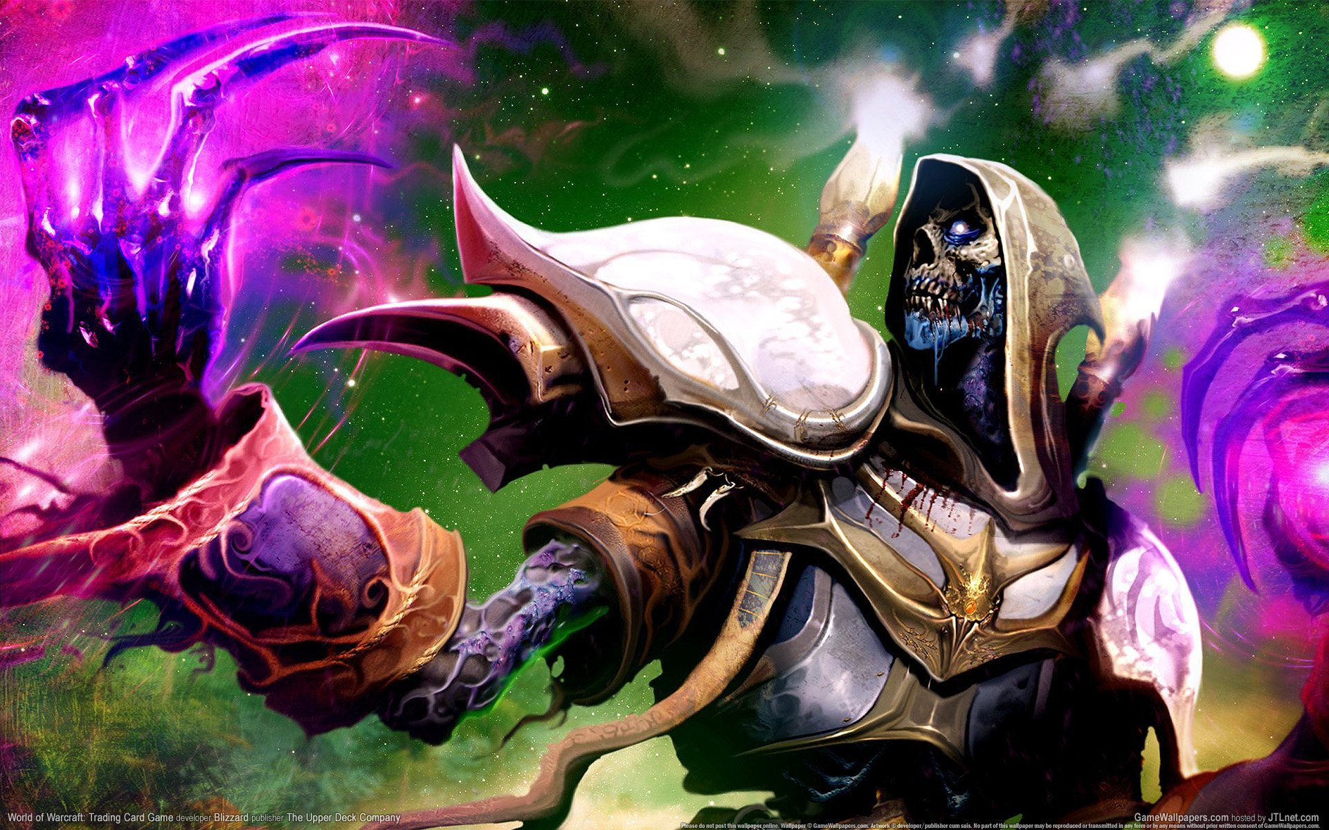 Classic World of Warcraft priest wallpaper