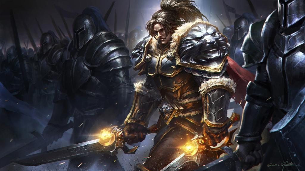 Picture of Varian Wrynn in World of Warcraft