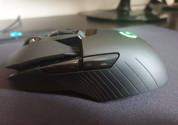 Image of my Logitech G903 Lightspeed mouse