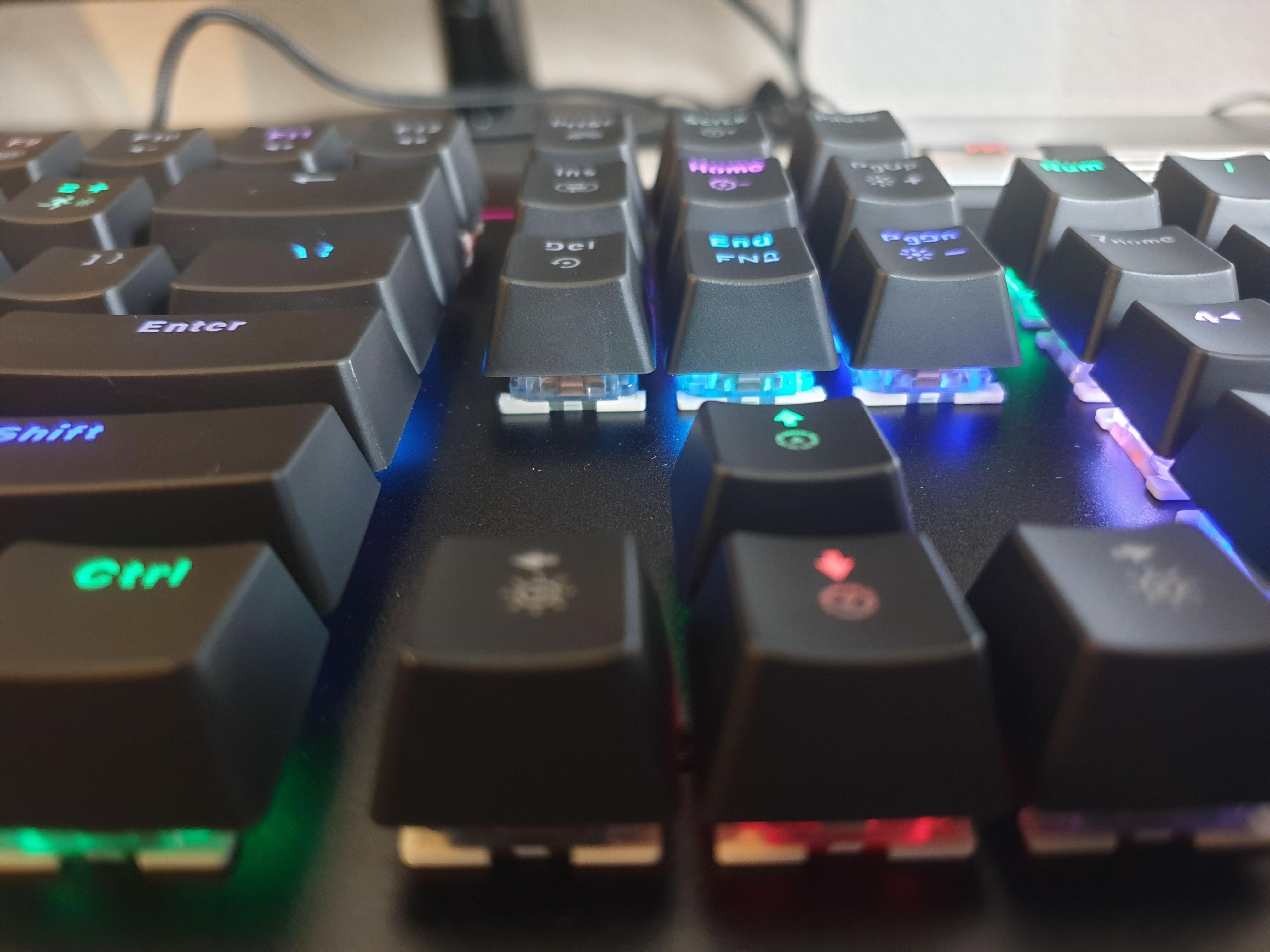 Image of my Havit mechanical keyboard