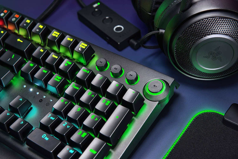 Image of the Razer BlackWidow Elite keyboard