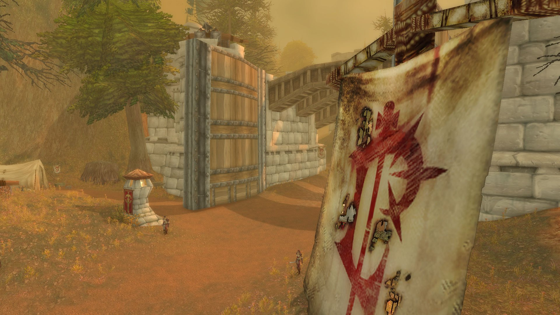 Screenshot of Hearthglen in WoW Classic
