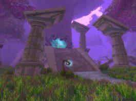 Screenshot of the Twilight Grove in WoW Classic