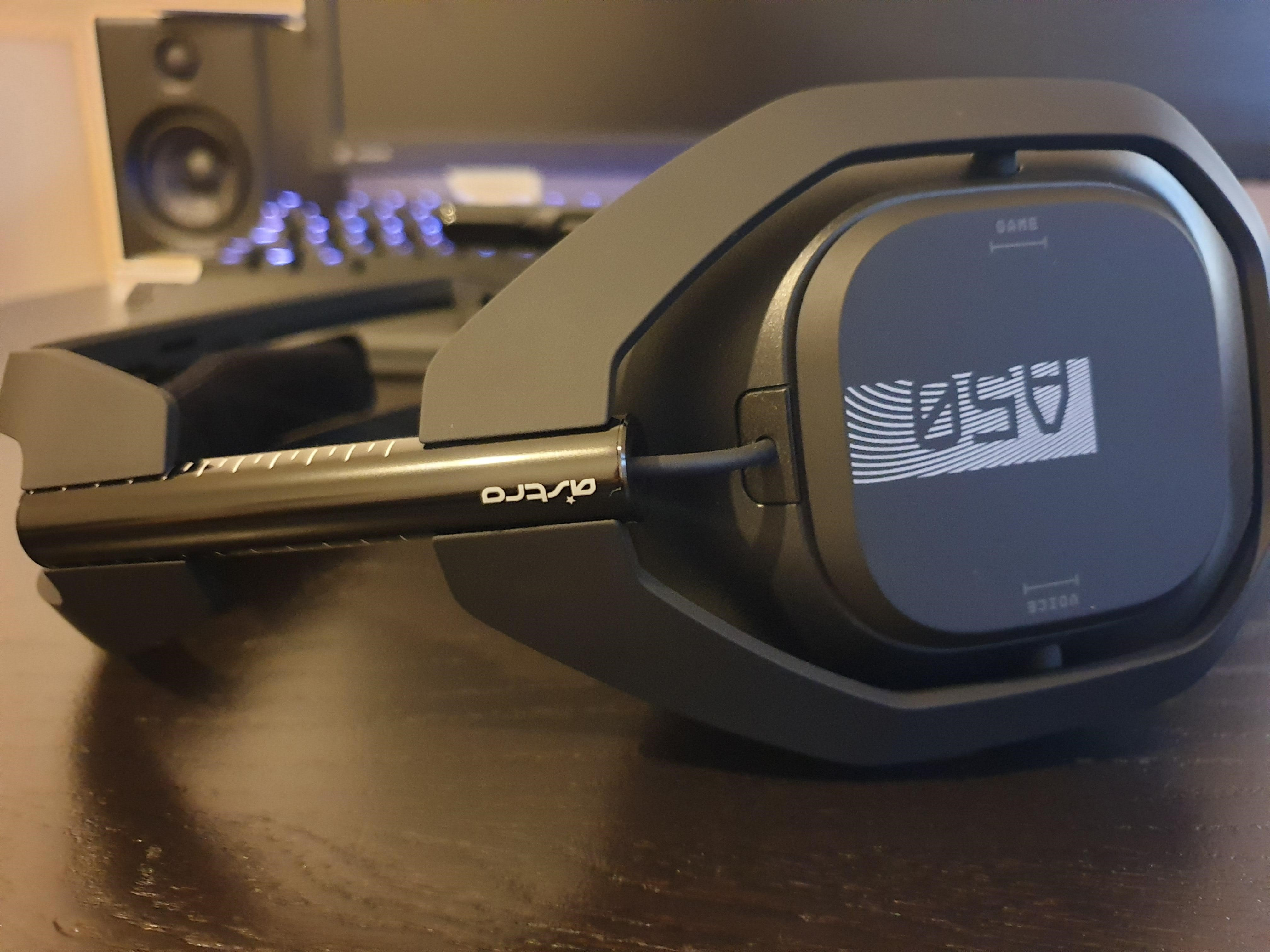 Image of my Astro A50 review sample